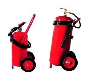 China_Wheeled_Trolley_Fire_Extinguisher-Powder type