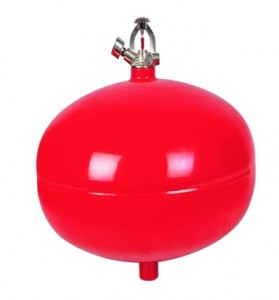 Dry Chemical Powder Fire Extinguisher Ceiling mounted Automatic
