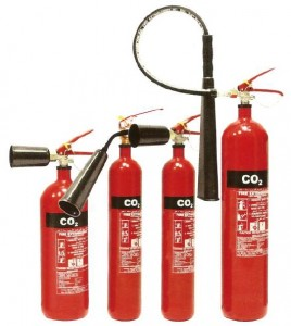 Fire Extinguisher of CO2
