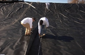 Geomembrane Installation