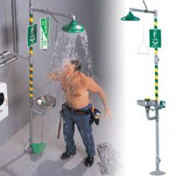 fighting equipment, Combination Shower and Eyewash