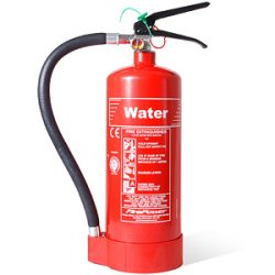fire extinguisher water type