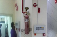 FM200 Automatic Fire Suppression System in pakistan